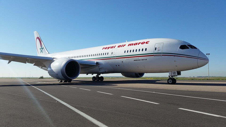 Panne d'un vol de la Royal Air Maroc