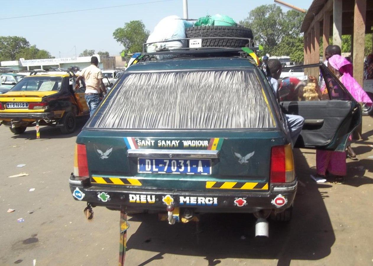 Voitures 7 places Dakar