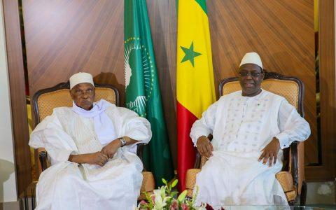 Abdoulaye Wade et Macky Sall au Palais