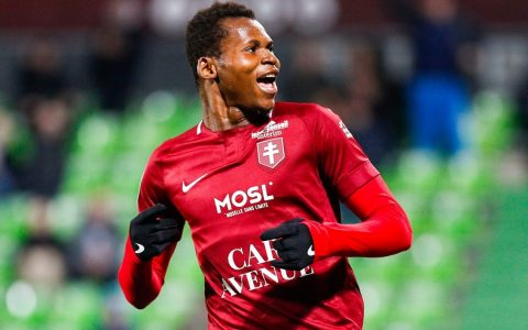 Habib Diallo Metz devant Nantes