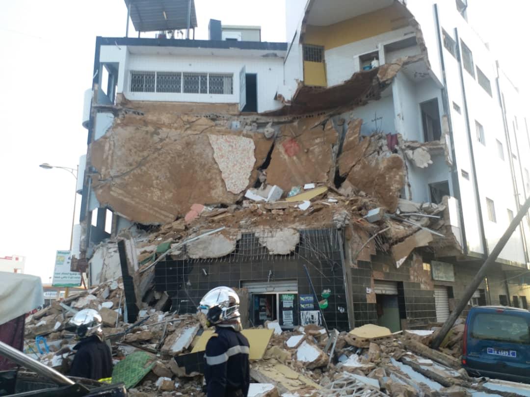 Effondrement d'un immeuble à Touba