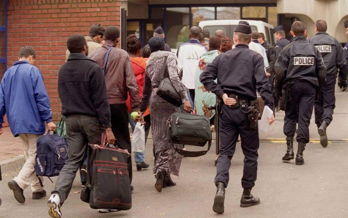 Police Occidentale- Rappatriement des africains