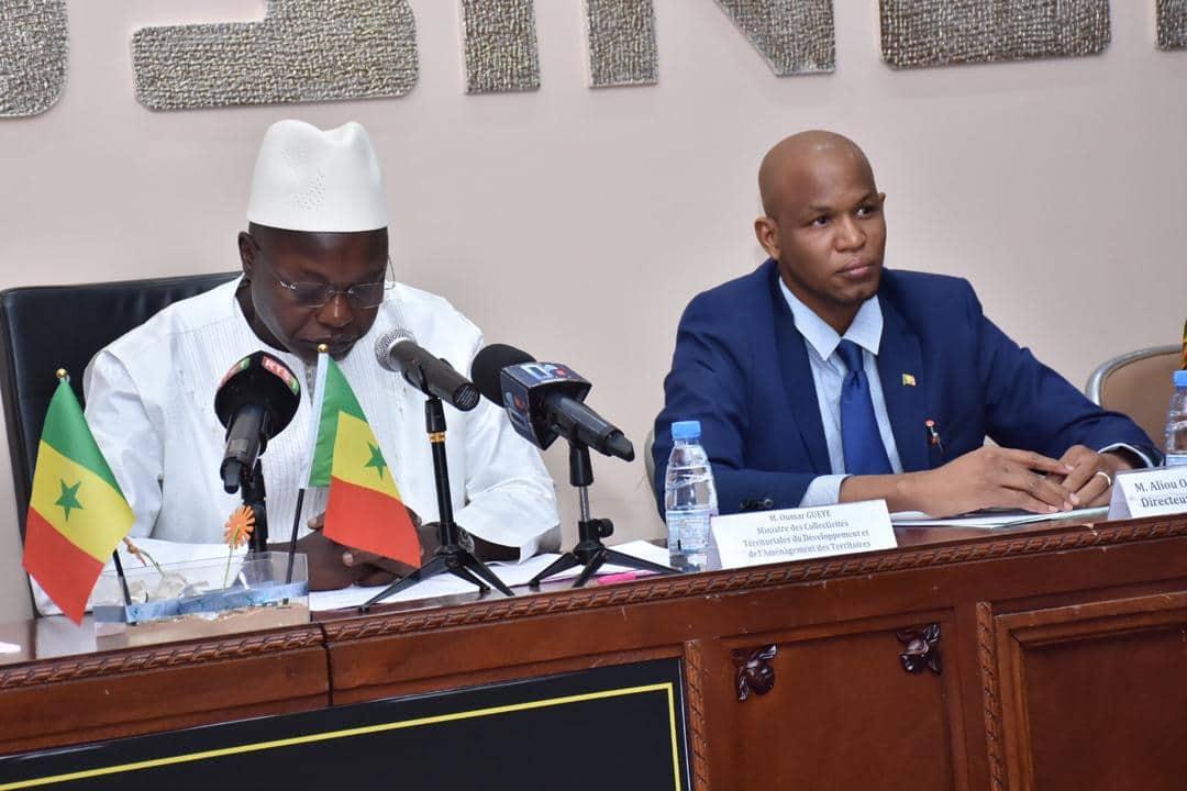 Aliou Ousmane Sall directeur de l'Etat Civil