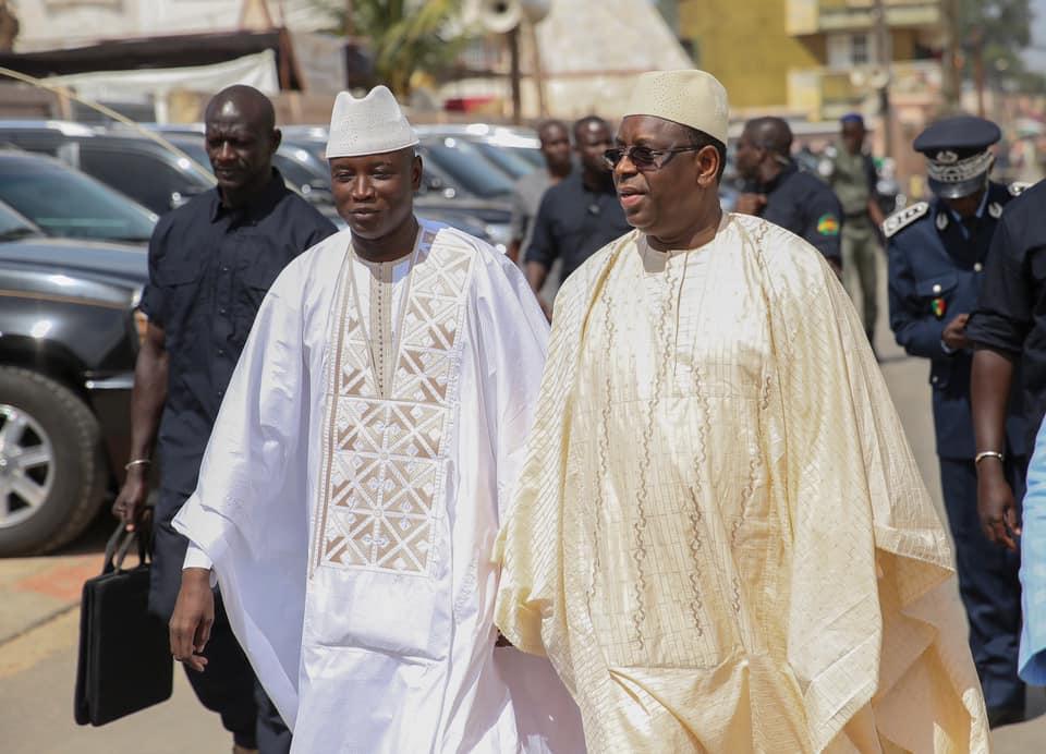 Aly Ngouille Ndiaye et Macky Sall