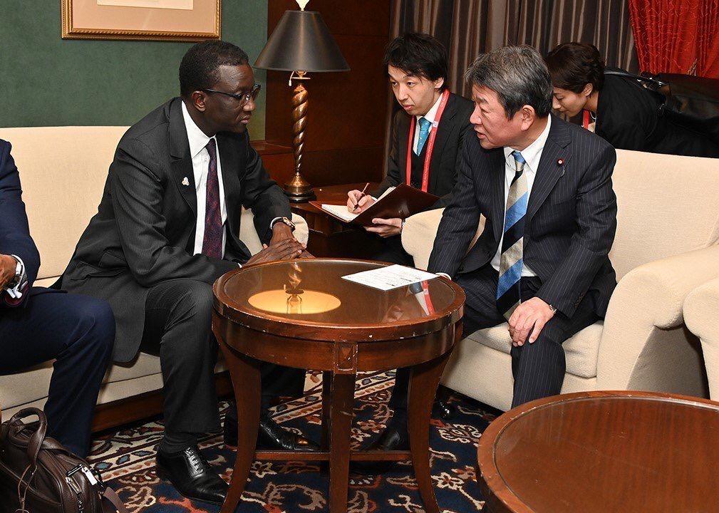 Le Ministre Amadou BA au JAPON