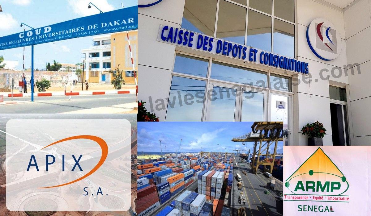 Rapport Armp 2017 - La CDC, le COUD, l'APIX, le Port Autonome de Dakar... au banc des accusés