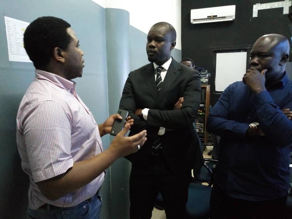 Ousmane Sonko sur Sen TV