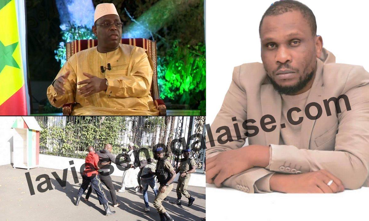 Le journaliste Babacar Fall coince Macky Sall