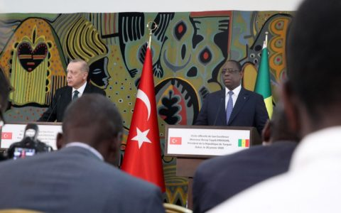 Macky Sall avec Erdogan - Conflit Libyen
