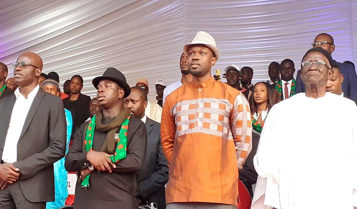 Ousmane Sonko confiant