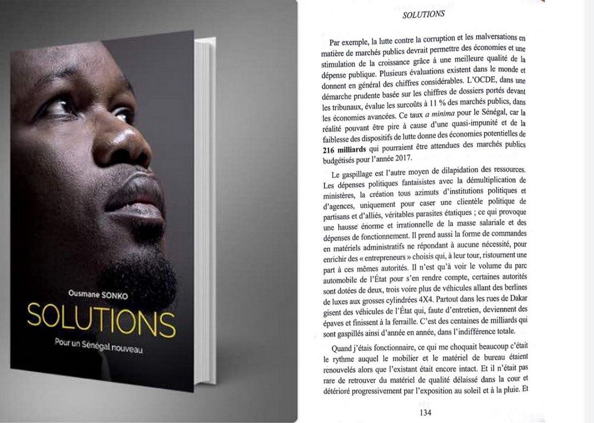 Ousmane Sonko et sa Solution