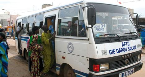 Bus Tata Dakar