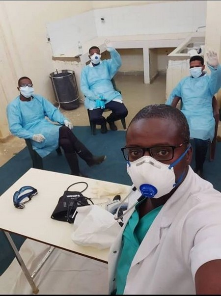 Dr Boullaye Diawara raconte le trajet de son patient atteint du Covid19