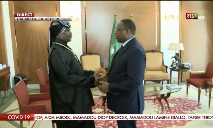 Macky Sall et Modou Kara