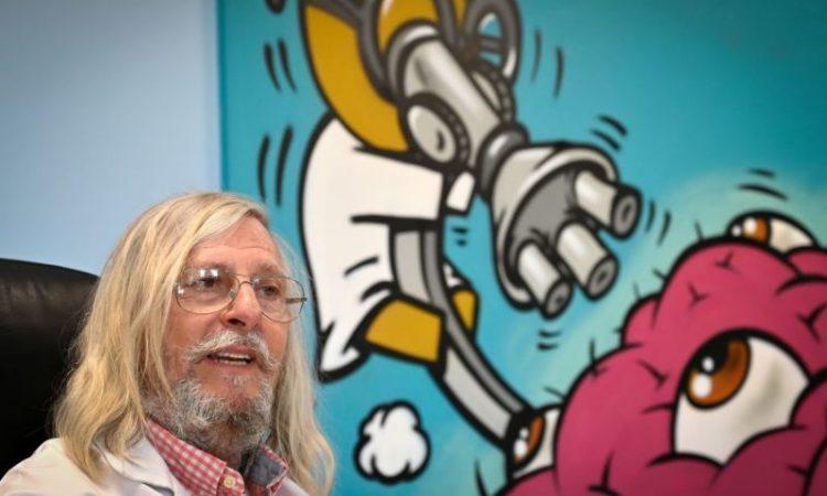 Professeur marseillais Didier Raoult