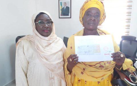 la plateforme des femmes And Jeego verse un million de francs Cfa dans les comptes